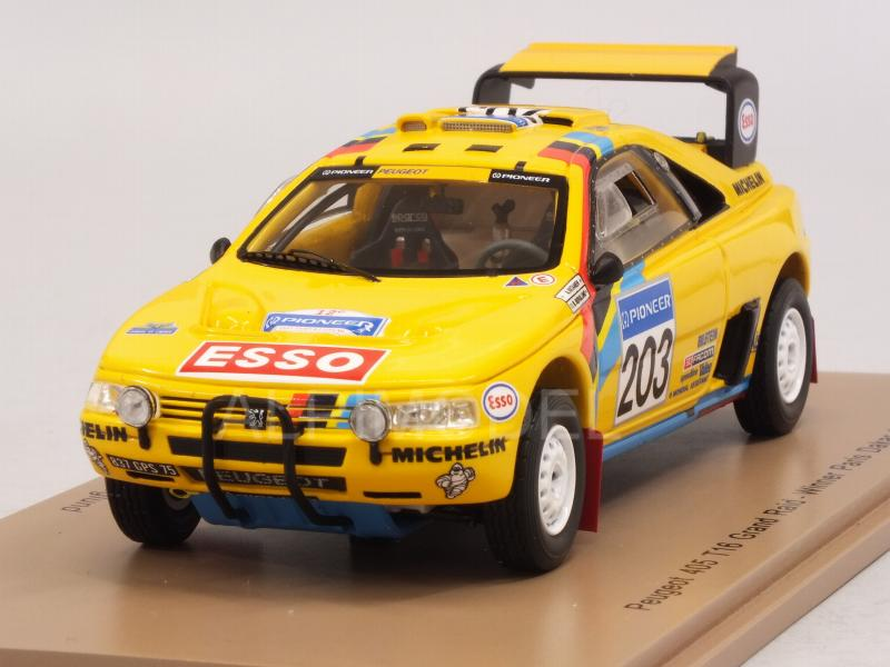 Peugeot 405 T16 #203 Winner Paris Dakar 1990 Vatanen - Berglund by spark-model