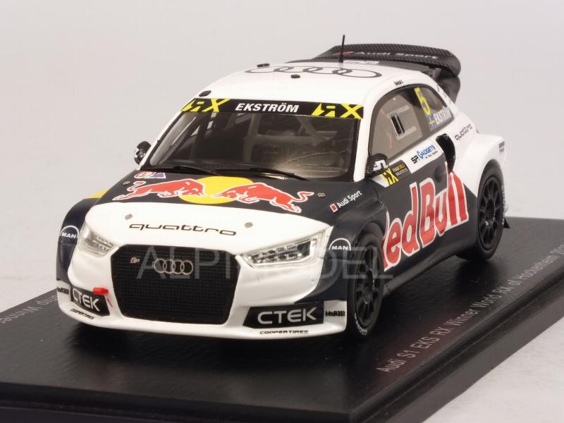 Audi S1 EKS RX #5 Winner WRX Hockenheim 2016 Mattias Ekstrom by spark-model