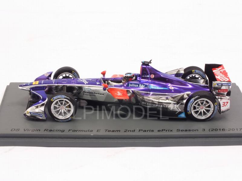 DS Virgin Racing #37 Paris Formula E 2016-17 J.M.Lopez - spark-model