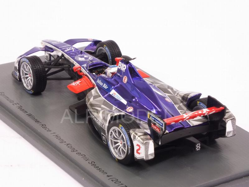 DS Virgin #2 Winner Rd.1 Hong Kong Formula E (2017-2018) Sam Bird - spark-model