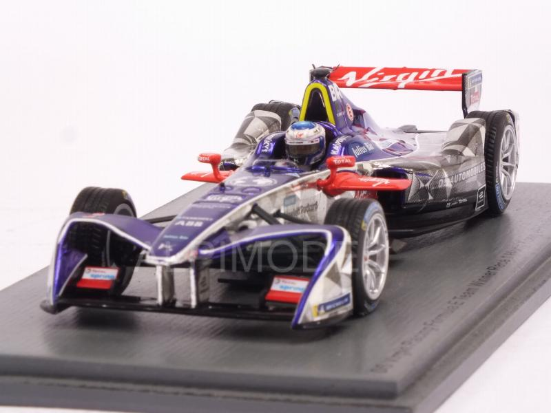 DS Virgin #2 Winner Rd.1 Hong Kong Formula E (2017-2018) Sam Bird by spark-model