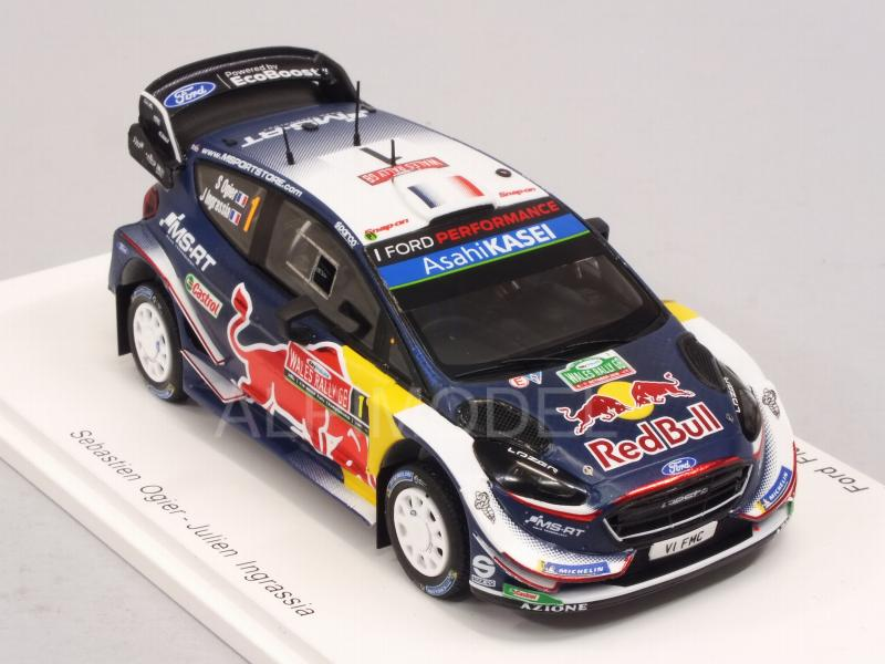 Ford Fiesta WRC #1 Winner Rally Great Britain 2018 Ogier - Ingrassia - spark-model
