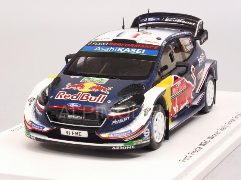 Ford Fiesta WRC #1 Winner Rally Great Britain 2018 Ogier - Ingrassia by spark-model