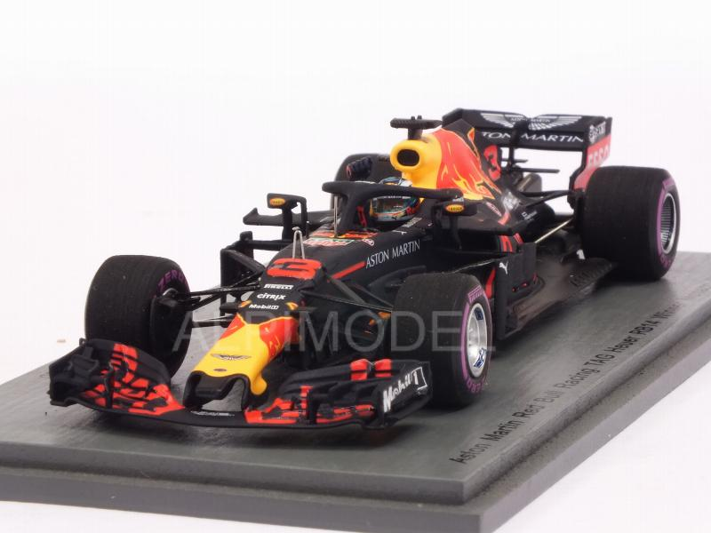 Red Bull RB14 #3 Winner GP Monaco 2018 Daniel Ricciardo - Red Bull 250th Race by spark-model