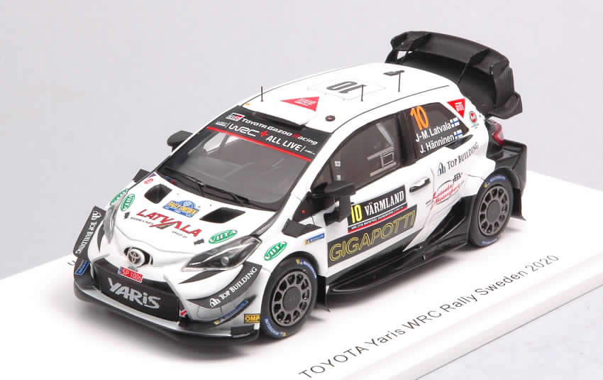 Toyota Yaris WRC #10 Rally Sweden 2020 Latvala - Hanninen by spark-model