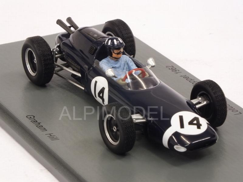 Lotus 24 #14 Kanonloppet 1962 Graham Hill3 - spark-model