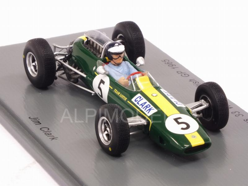 Lotus 33 #5 Winner British GP 1965 Jim Clark World Champion - spark-model