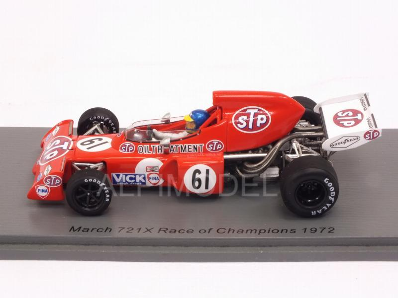 March 721X #61 Race of Champions 1972 Ronnie Peterson - spark-model