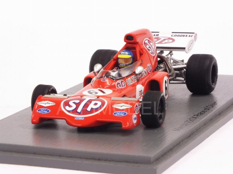 March 721X #61 Race of Champions 1972 Ronnie Peterson by spark-model