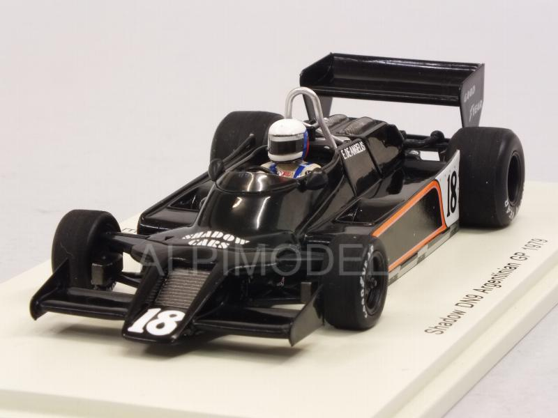 Shadow DN9 #18 GP Argentina 1979 Elio De Angelis by spark-model