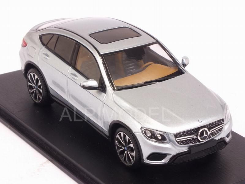 Mercedes GLC-Class Coupe 2016 (Diamond Silver Metallic) - spark-model