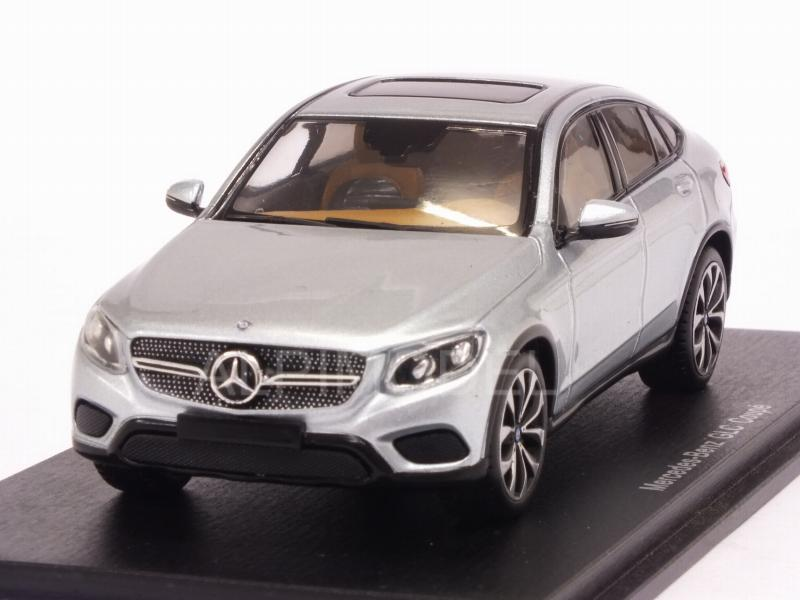 Mercedes GLC-Class Coupe 2016 (Diamond Silver Metallic) by spark-model