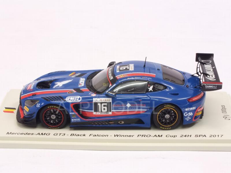 Mercedes AMG GT3 #16 Spa 2017 Morley - Toril - Kirchhofer - Gotz - spark-model