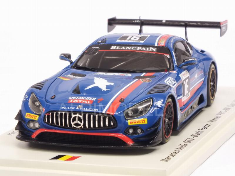 Mercedes AMG GT3 #16 Spa 2017 Morley - Toril - Kirchhofer - Gotz by spark-model