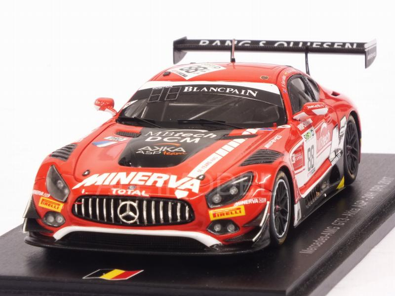 Mercedes AMG GT3 #88 Spa 2017 Serralles -Juncadella -Vautier by spark-model