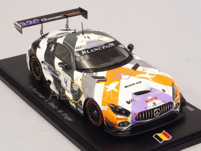 Mercedes AMG GT3 #4 Spa 2018 Buurman - Stolz - Engel - spark-model
