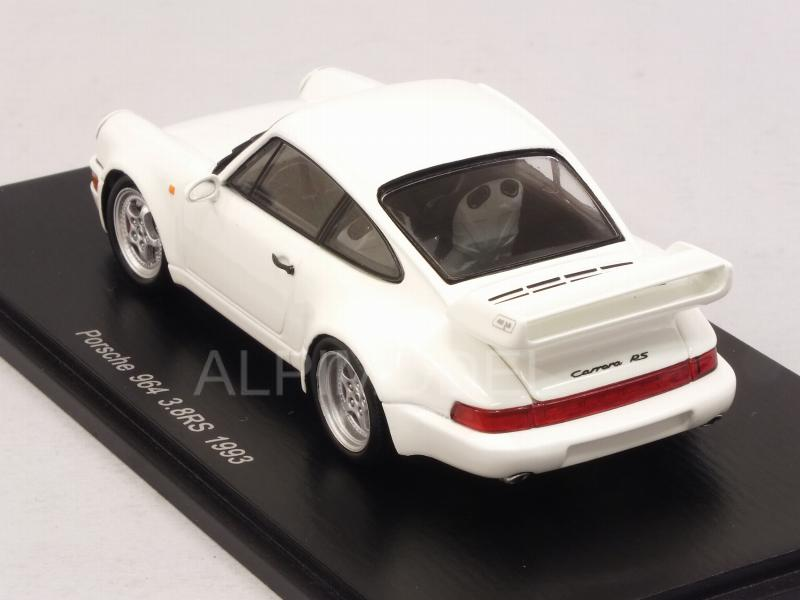 Porsche 911 Carrera RS 3.8 (964) 1993 (White) - spark-model
