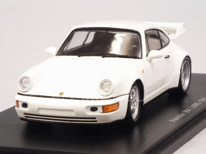 Porsche 911 Carrera RS 3.8 (964) 1993 (White) by spark-model