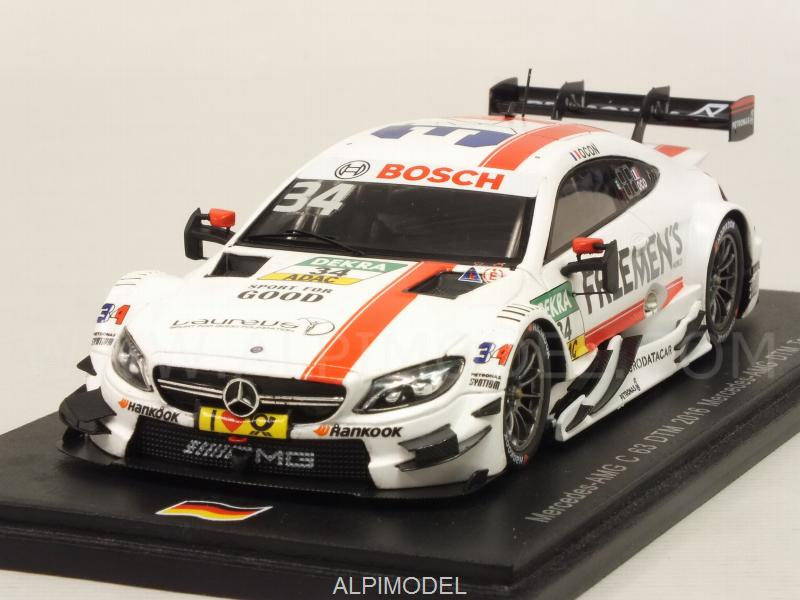 Mercedes C63 AMG #34 DTM 2016 Esteban Ocon by spark-model