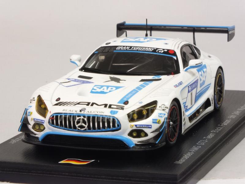 Mercedes AMG GT3  #1 24h Nurburgring 2017 Engel - Christodoulou - Buurman - Metzger by spark-model