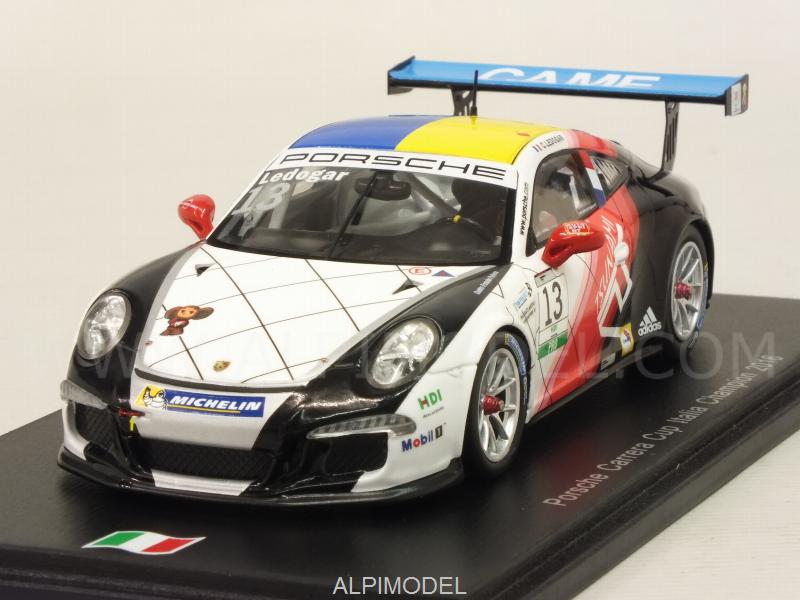 Porsche 911 #13 Carrera Cup Italia Champion 2016 C.Ledogar by spark-model