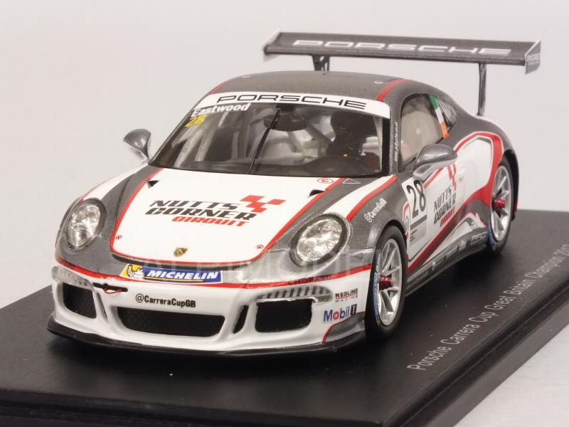 Porsche 911 GT3 #28 Champion Carrera Cup Great Britain 2017 Charrlie Eastwood by spark-model