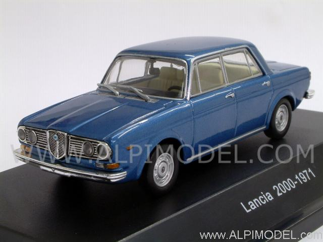 Lancia 2000 1971 (Blu Vincennes) by starline