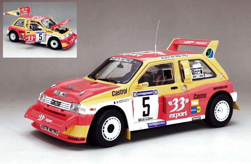 MG Metro 6R4 #5 Winner Criterium of Cevennes 1986 Auriol - Occelli by sunstar