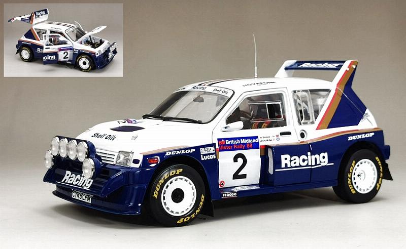 MG Metro 6R4 #2 Winner British Midland Ulster 1986 McRae - Grindrod by sunstar