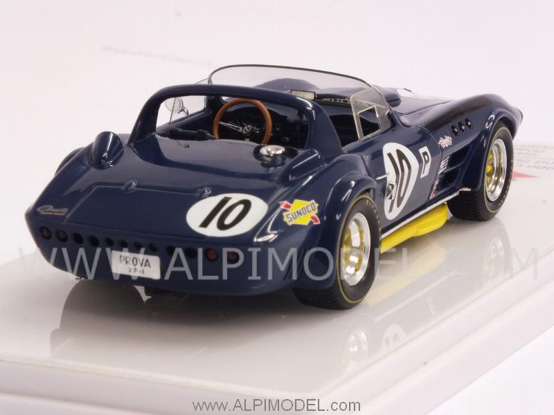 Chevrolet Corvette Grand Sport Roadster #10 12h Sebring 1967 Penske -Thompson - Guldtrans - true-scale-miniatures