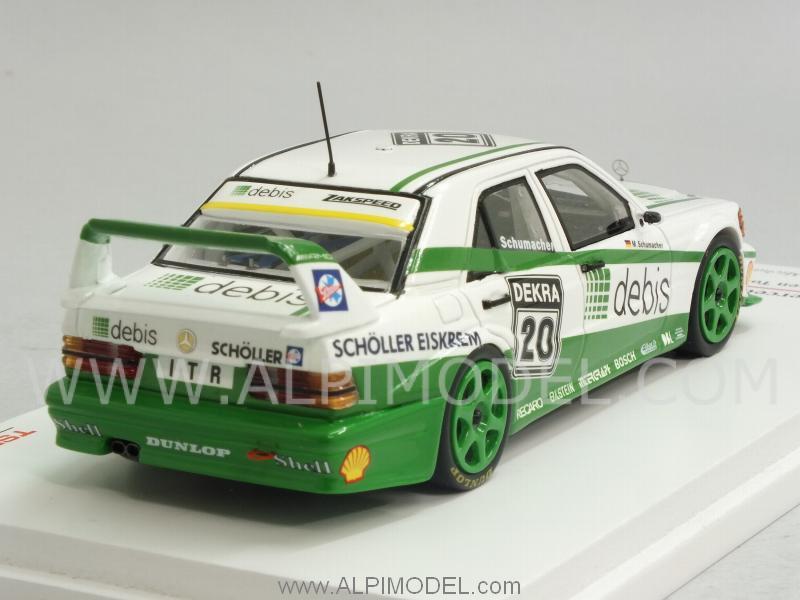 ... Mercedes 190E EVO2 #20 DTM 1991 Michael Schumacher (1/43 scale model