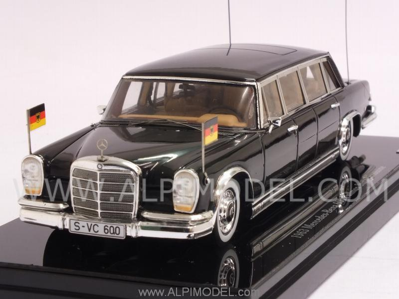 Mercedes 600 Pullman 1963 State Limousine by true-scale-miniatures