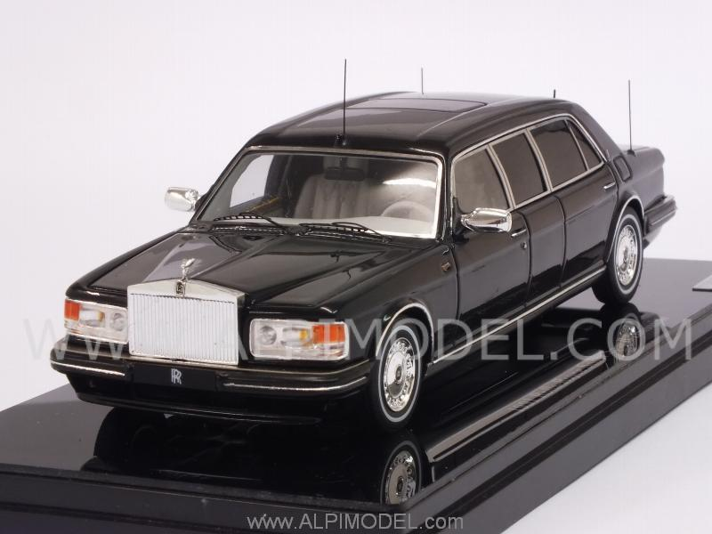 Rolls Royce Silver Spur II Limousine 1991 (Black) by true-scale-miniatures