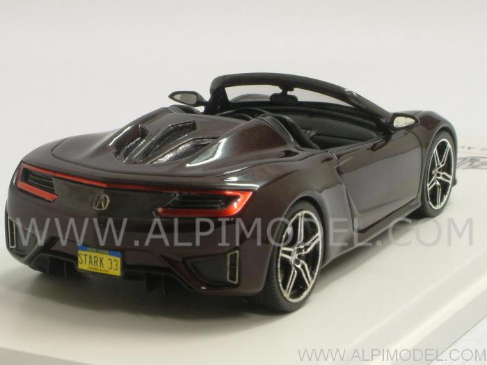 Acura NSX Roadster 2012 The Avengers -  Ironman Tony Stark - true-scale-miniatures