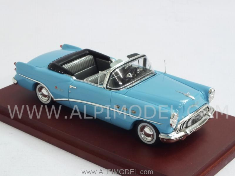 Buick Century 2-Door Convertible 1964 (Light Blue) - true-scale-miniatures