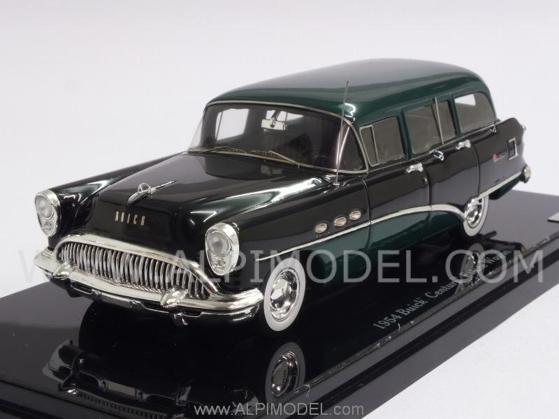 Buick Century Estate Wagon 1954 (Black/Green) by true-scale-miniatures