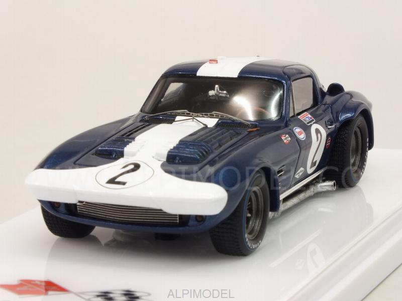 Chevrolet Corvette Grand Sport Coupe� #2 12h Sebring 1964 by true-scale-miniatures