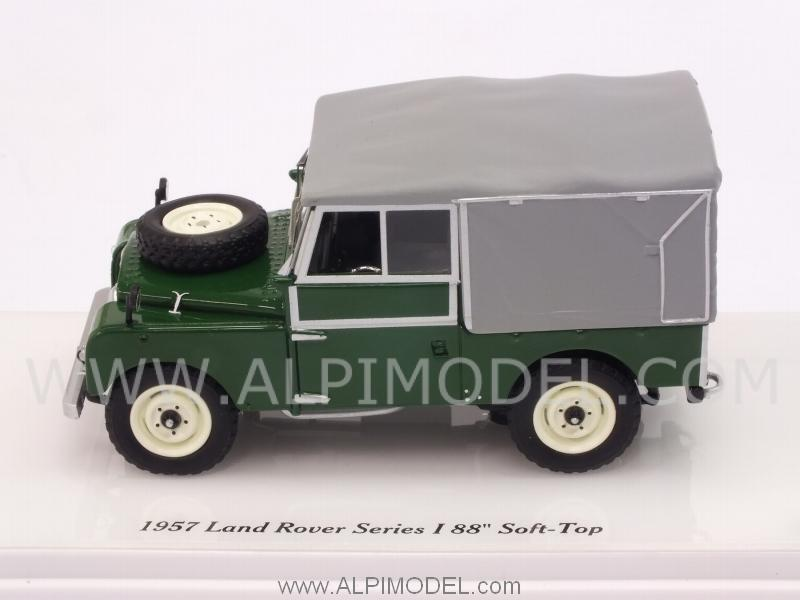 Land Rover Series I 88 Soft Top (Green) - true-scale-miniatures
