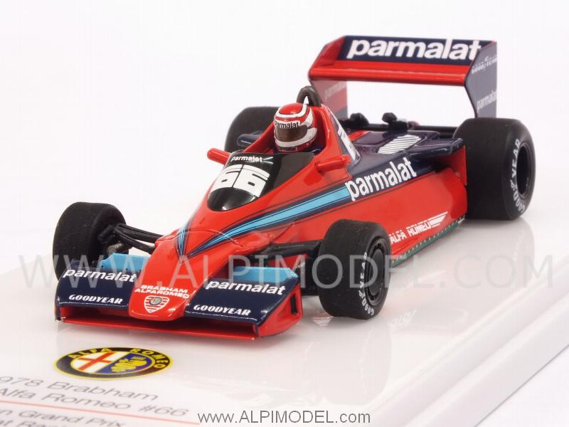 Brabham BT46 Alfa Romeo #66 GP Canada 1978 Nelson Piquet by true-scale-miniatures