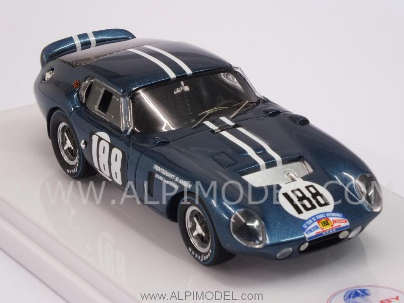 Shelby Daytona Coupe CSX2299 #188 Tour De France 1964 Trintignant - Saint-Auban - true-scale-miniatures