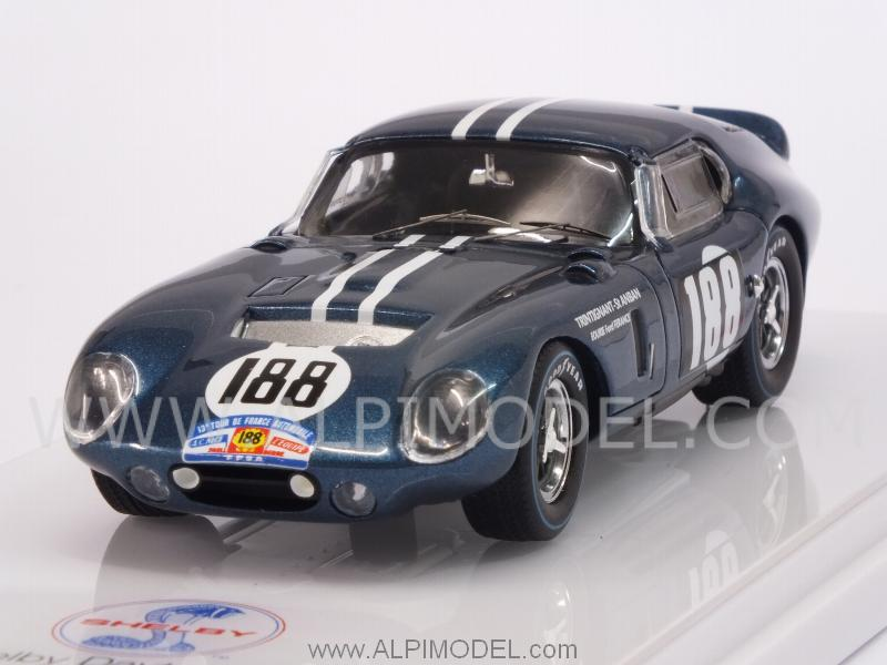Shelby Daytona Coupe CSX2299 #188 Tour De France 1964 Trintignant - Saint-Auban by true-scale-miniatures