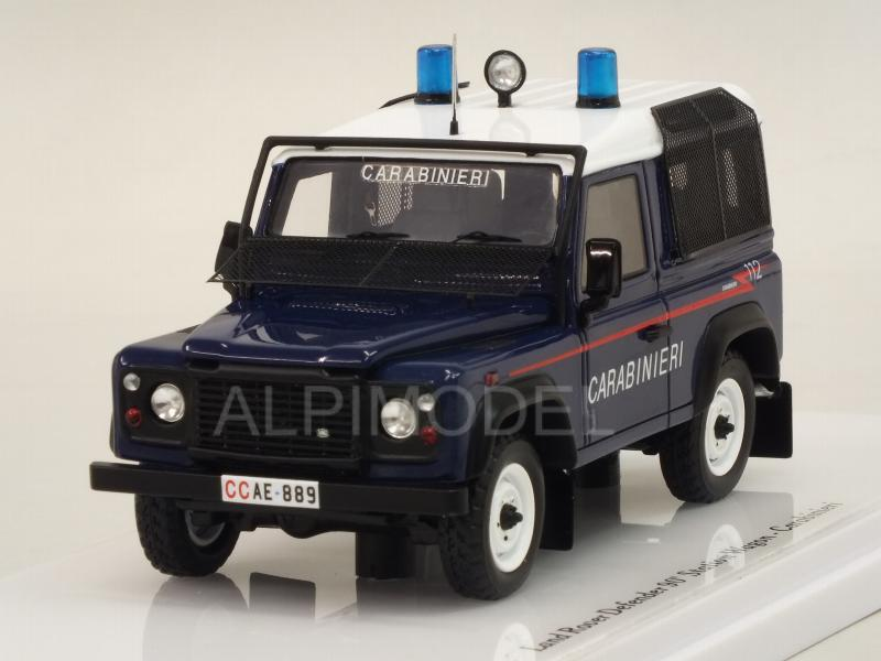 Land Rover Defender 90 Station Wagon CARABINIERI by true-scale-miniatures