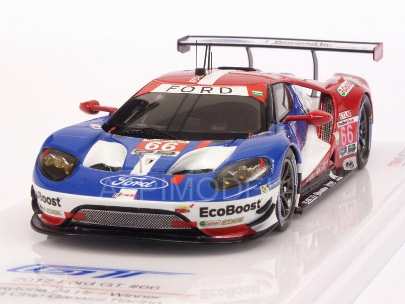 Ford GT #66 Ganassi Racing Winner 24h Daytona 2017 by true-scale-miniatures