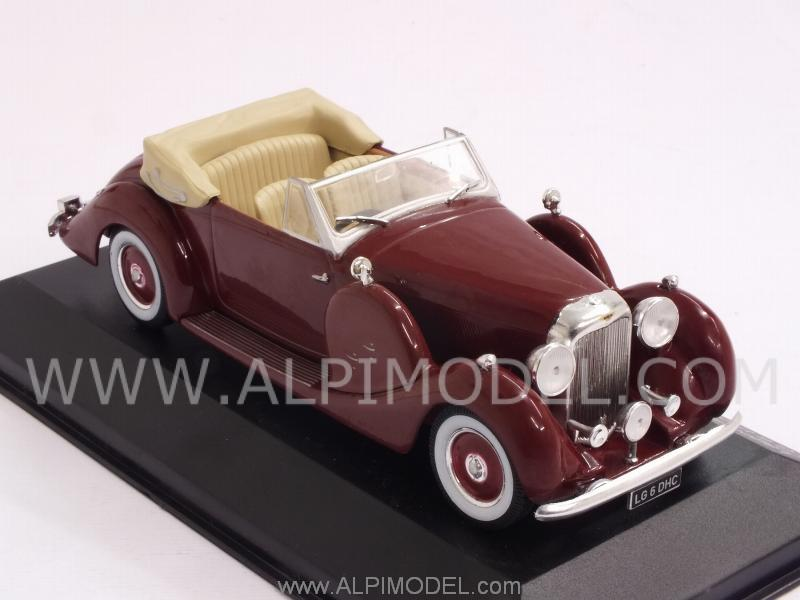 Lagonda LG 6 DHC 1938 (Drak Red) - whitebox