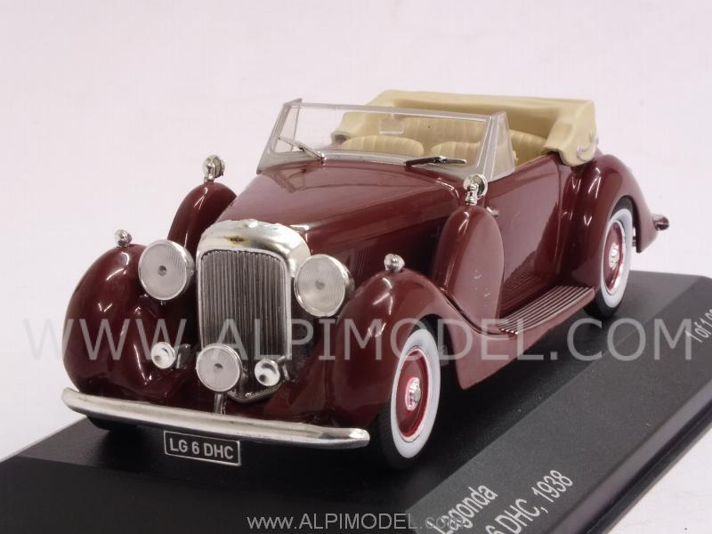 Lagonda LG 6 DHC 1938 (Drak Red) by whitebox