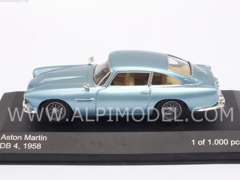 Aston Martin DB4 1958 (Metallic Light Blue) - whitebox