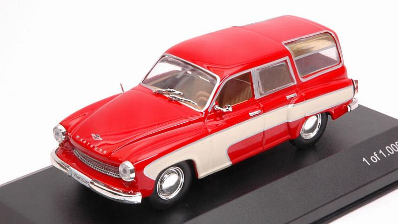 Wartburg 312 Camping 1960 (Red) by whitebox