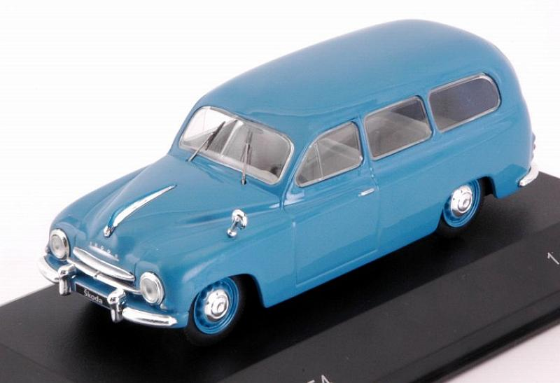 Skoda 1201 Kombi 1954 (Blue) by whitebox