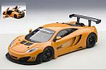 McLaren 12C GT3 Presentation Car (Orange) by AUTO ART