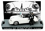 Porsche 356C Cabriolet Police Switzerland 1952 (Limited Edition 300pcs) by BRUMM